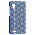Colorful Retro Geometric Pattern HTC Desire VT (T328T) Hardshell Case View2