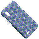Colorful Retro Geometric Pattern HTC Desire VT (T328T) Hardshell Case View5