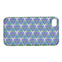 Colorful Retro Geometric Pattern Apple iPhone 4/4S Hardshell Case with Stand View1