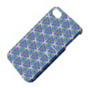 Colorful Retro Geometric Pattern Apple iPhone 4/4S Hardshell Case with Stand View4