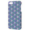 Colorful Retro Geometric Pattern Apple iPhone 5 Hardshell Case with Stand View3