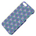 Colorful Retro Geometric Pattern Apple iPhone 5 Hardshell Case with Stand View4