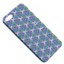 Colorful Retro Geometric Pattern Apple iPhone 5 Hardshell Case with Stand View5