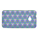Colorful Retro Geometric Pattern HTC One M7 Hardshell Case View1