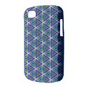 Colorful Retro Geometric Pattern BlackBerry Q10 View3
