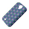 Colorful Retro Geometric Pattern Samsung Galaxy S4 Classic Hardshell Case (PC+Silicone) View4