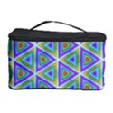 Colorful Retro Geometric Pattern Cosmetic Storage Case View1