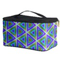 Colorful Retro Geometric Pattern Cosmetic Storage Case View3