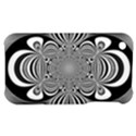 Black And White Ornamental Flower Apple iPhone 3G/3GS Hardshell Case View1