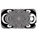 Black And White Ornamental Flower HTC Sensation XL Hardshell Case View1