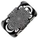 Black And White Ornamental Flower HTC Wildfire S A510e Hardshell Case View4