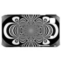 Black And White Ornamental Flower Samsung Galaxy S i9000 Hardshell Case  View1
