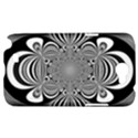 Black And White Ornamental Flower Samsung Galaxy Note 2 Hardshell Case View1