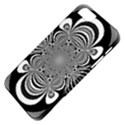 Black And White Ornamental Flower Apple iPhone 5 Classic Hardshell Case View4