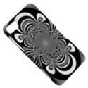 Black And White Ornamental Flower BlackBerry Z10 View5