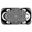 Black And White Ornamental Flower Samsung Galaxy Win I8550 Hardshell Case  View1