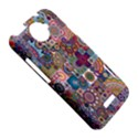 Ornamental Mosaic Background HTC One X Hardshell Case  View5