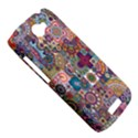Ornamental Mosaic Background HTC One S Hardshell Case  View5