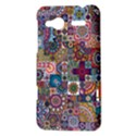 Ornamental Mosaic Background HTC Radar Hardshell Case  View3