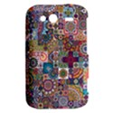 Ornamental Mosaic Background HTC Wildfire S A510e Hardshell Case View2