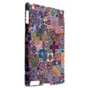 Ornamental Mosaic Background Apple iPad 2 Hardshell Case (Compatible with Smart Cover) View2