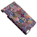 Ornamental Mosaic Background Apple iPad 3/4 Hardshell Case View5