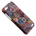 Ornamental Mosaic Background HTC One V Hardshell Case View5
