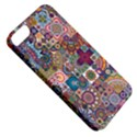 Ornamental Mosaic Background Apple iPhone 5 Classic Hardshell Case View5