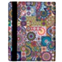 Ornamental Mosaic Background Apple iPad 2 Flip Case View3