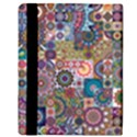 Ornamental Mosaic Background Apple iPad Mini Flip Case View3