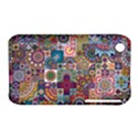 Ornamental Mosaic Background Apple iPhone 3G/3GS Hardshell Case (PC+Silicone) View1