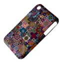 Ornamental Mosaic Background Apple iPhone 3G/3GS Hardshell Case (PC+Silicone) View4