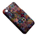 Ornamental Mosaic Background Apple iPhone 3G/3GS Hardshell Case (PC+Silicone) View5