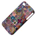 Ornamental Mosaic Background Apple iPhone 4/4S Hardshell Case (PC+Silicone) View4
