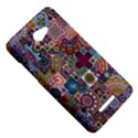 Ornamental Mosaic Background HTC Butterfly X920E Hardshell Case View5