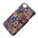 Ornamental Mosaic Background Apple iPhone 4/4S Hardshell Case with Stand View4