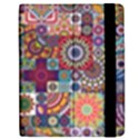 Ornamental Mosaic Background Samsung Galaxy Tab 7  P1000 Flip Case View2