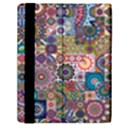 Ornamental Mosaic Background Samsung Galaxy Tab 10.1  P7500 Flip Case View2