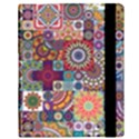 Ornamental Mosaic Background Samsung Galaxy Tab 10.1  P7500 Flip Case View3