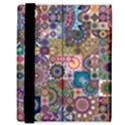 Ornamental Mosaic Background Samsung Galaxy Tab 8.9  P7300 Flip Case View3