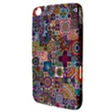 Ornamental Mosaic Background Samsung Galaxy Tab 3 (8 ) T3100 Hardshell Case  View3