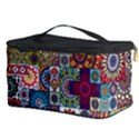 Ornamental Mosaic Background Cosmetic Storage Case View3