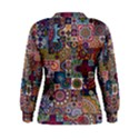 Ornamental Mosaic Background Women s Sweatshirt View2