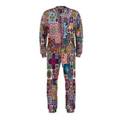 Ornamental Mosaic Background OnePiece Jumpsuit (Kids)
