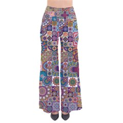 Ornamental Mosaic Background Pants