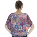 Ornamental Mosaic Background Blouse View2