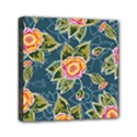 Floral Fantsy Pattern Mini Canvas 6  x 6  View1