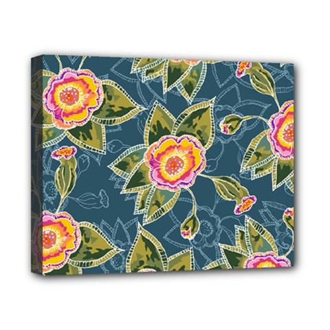 Floral Fantsy Pattern Canvas 10  x 8