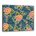 Floral Fantsy Pattern Canvas 20  x 16  View1