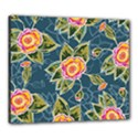 Floral Fantsy Pattern Canvas 24  x 20  View1